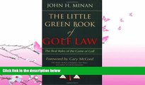 book online  The Little Green Book of Golf Law: The Real Rules of the Game of Golf (ABA Little