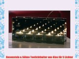 Rosenstein & Söhne Teelichthalter aus Glas für 5 Lichter