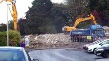 Viewmount Destruction In Forfar Scotland