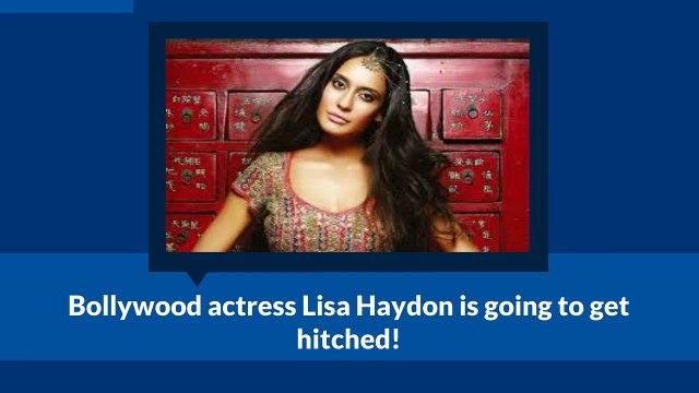 Bollywood Actress Lisa Haydon Announces Her Marriage - lisa haydon announces marriage with beau