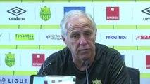 Foot - L1 - Nantes : Girard «Lorient remonte en puissance»