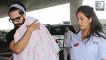 Shahid Kapoor SPOTTED With Misha & Mira Rajput