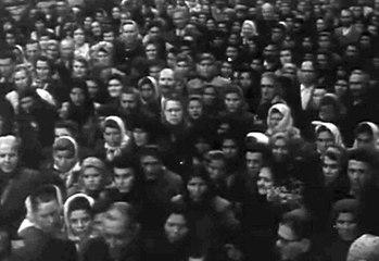 Sf. Parascheva in 1956 - FILM INEDIT cu Patriarhul Justinian