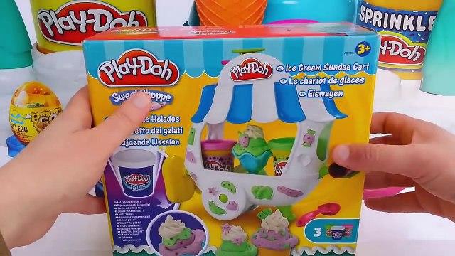 Play Doh Ice cream cupcakes playset playdough Ice Cream Play doh Playset cupcake