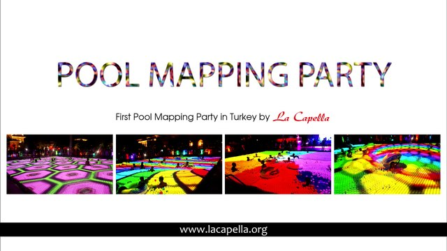 Antalya Pool Mapping Party - Antalya Party Event - Antalya Organizasyon