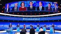 Ce moment où les candidats à la primaire de la droite se balancent leurs démêlés  à la figure