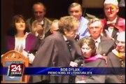 Bob Dylan gana el Premio Nobel de Literatura 2016