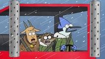 Mordecai e Rigby sulla neve | The Regular Show | Cartoon Network
