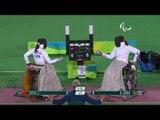 Wheelchair Fencing|JANA v ZHOU| Women's Individual Épée -B Gold |Rio 2016 Paralympic Games