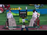 Wheelchair Fencing| BURDON v XUFENG| Women's Individual Epee A | Rio 2016 Paralympic Games