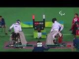 Wheelchair Fencing|TIAN v AL.MADHKHOORI|Men's Individual Épée -A Bronze|Rio 2016 Paralympic Games