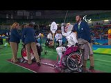 Wheelchair Fencing| BURDON v DELUCA| Women's Individual Epee A | Rio 2016 Paralympic Games