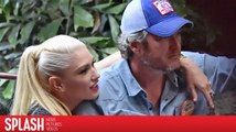 Blake Shelton et Gwen Stefani s'éclatent à Disneyland