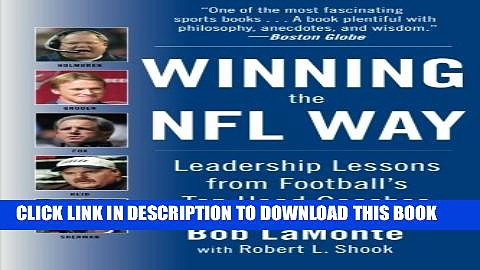 [PDF] Winning the NFL Way: Leadership Lessons From Football s Top Head Coaches Full Online