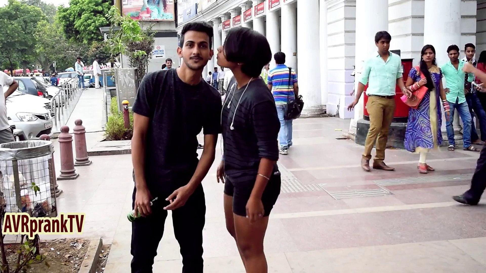 Kissing Prank India - Spin The Bottle   AVRprankTV