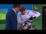 Wheelchair Fencing| COLLIS v XUFENG| Women's Individual Epee A | Rio 2016 Paralympic Games