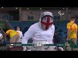 Wheelchair Fencing| BURDON v COLLIS| Women's Individual Epee A | Rio 2016 Paralympic Games