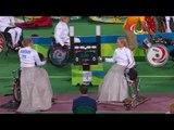 Wheelchair Fencing| BURDON v HALKINA| Women's Individual Epee A | Rio 2016 Paralympic Games