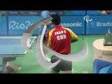 Table Tennis | Hungary v China | Men's Singles Final Class 8 | Rio 2016 Paralympic Games