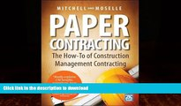 EBOOK ONLINE  Paper Contracting: The How-To of Construction Management Contracting  BOOK ONLINE