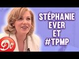 Stéphanie Ever (Premiers Baisers) folle de joie devant Hanouna et Chameroy
