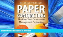 FAVORIT BOOK Paper Contracting: The How-To of Construction Management Contracting READ PDF BOOKS