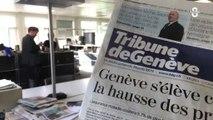 Tamédia : La presse écrite en Suisse romande en danger