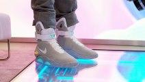 Test des chaussures nike de retour vers le futur