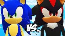 SONIC VS SHADOW - SONIC THE HEDGEHOG VS SHADOW (SONIC BOOM)