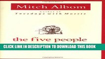 [PDF] The Five People You Meet In Heaven Full Colection