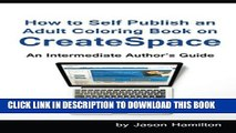 Download PDF How to Self Publish an Adult Coloring Book on ...