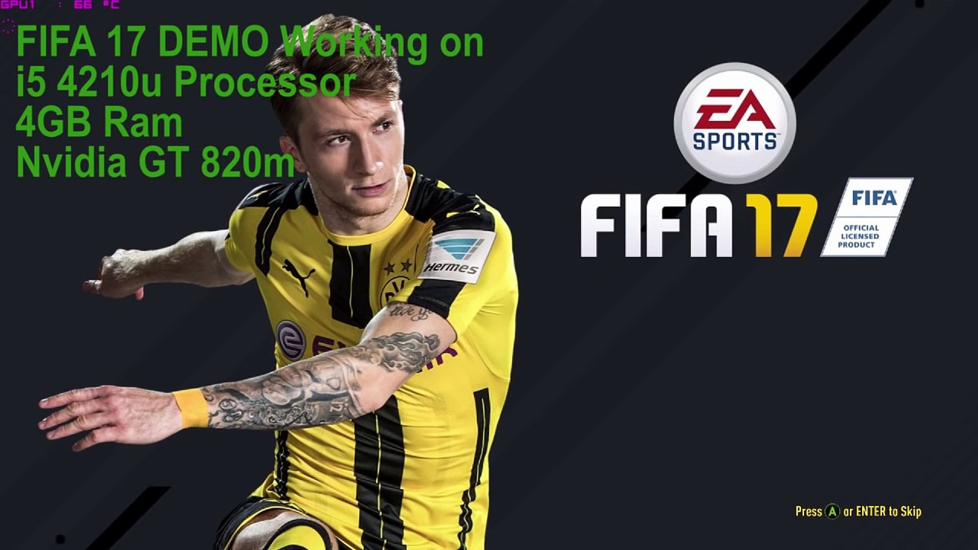 FIFA 17 on 4GB RAM and low pc's