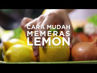 Cara Mudah Memeras Lemon