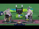 Day 5 evening   Wheelchair fencing highlights   Rio 2016 Paralympic Games