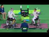 Day 5 morning   Wheelchair Fencing highlights   Rio 2016 Paralympic Games