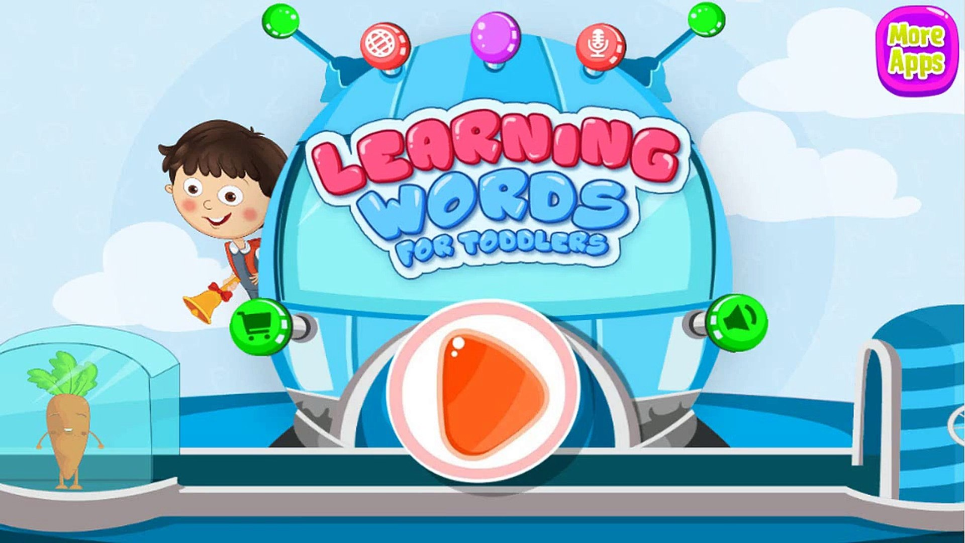 Learning words for Toddler - Kids learn words, Education game for toddler