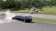 Un chauffeur de Barack Obama fait une démonstration spectaculaire sur circuit