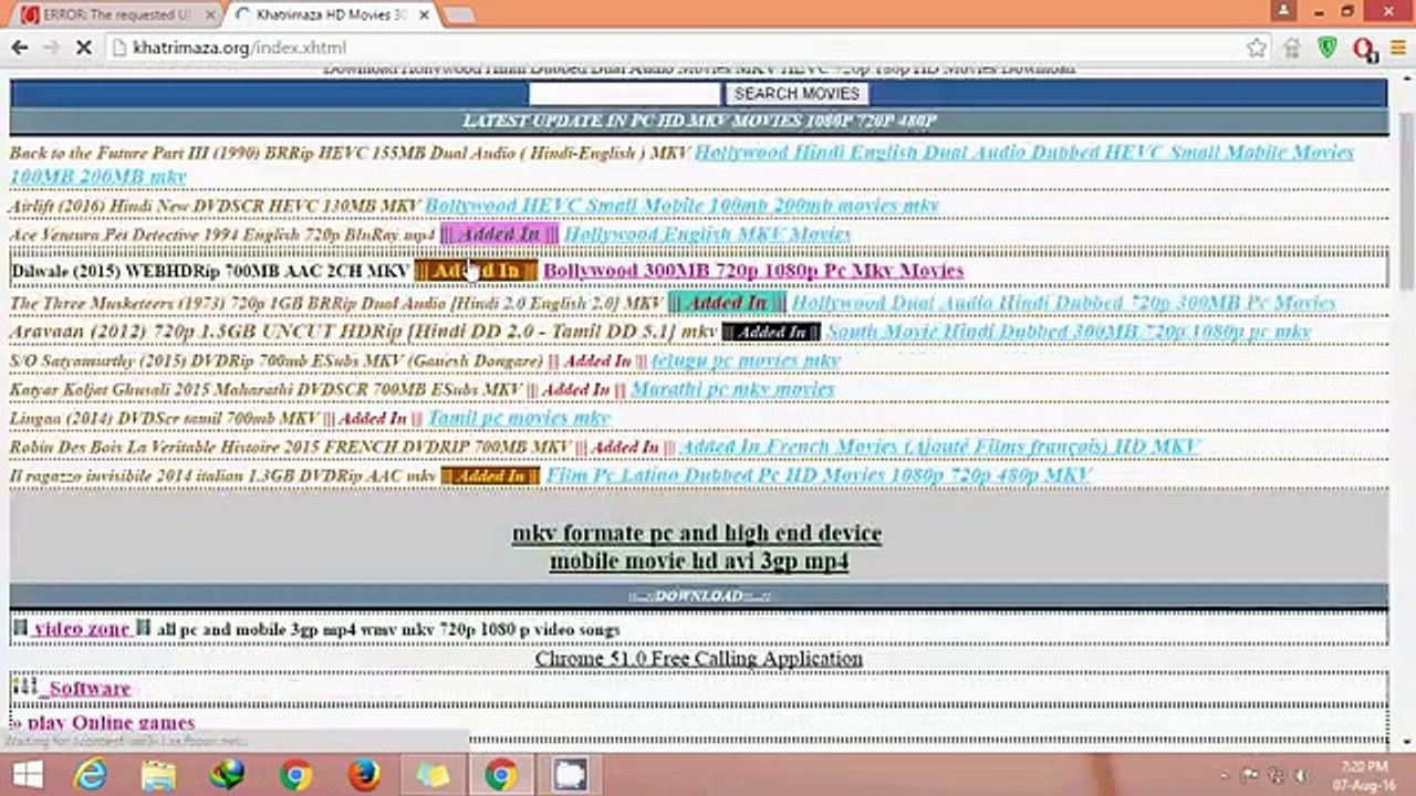 Top 5 WEBSITE FOR DOWNLOAD HOLLYWOOD DUBBED HINDI MOVIES - video dailymotion