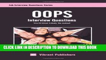 [Read PDF] OOPS Interview Questions You ll Most Likely Be Asked Ebook Free