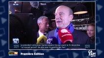 Alain Juppé chante à la sortie du débat des primaires de la droite