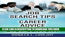 [Read PDF] Job Search Tips and Career Advice for the 21st Century Ebook Online