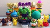 PLAY-DOH Surprise Toys,Shopkins,Hulk,Pokemon,The Lion King,Play Toys for Kids,Surprise Eggs