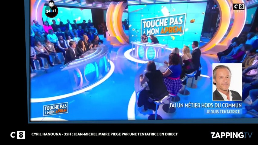 Cyril Hanouna – 35 H: Jean-Michel Maire dragué par une tentatrice, il tombe dans le piège (Vidéo)