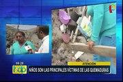 'No más ollas peligrosas'  campaña para evitar que niños sufran quemaduras