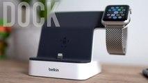 Le meilleur dock pour iPhone et Apple Watch !