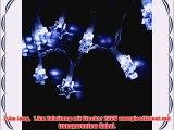 Paulart LED Lichterkette Weihnachts Dekoration Licht Weihnachten Beleuchtung Sterne DEI4