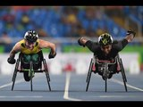 Athletics   Men's 100m - T34 Final    Rio 2016 Paralympic Games
