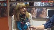 Charlotte Savary sur les showcases de son 1er album chez des disquaires indépendants