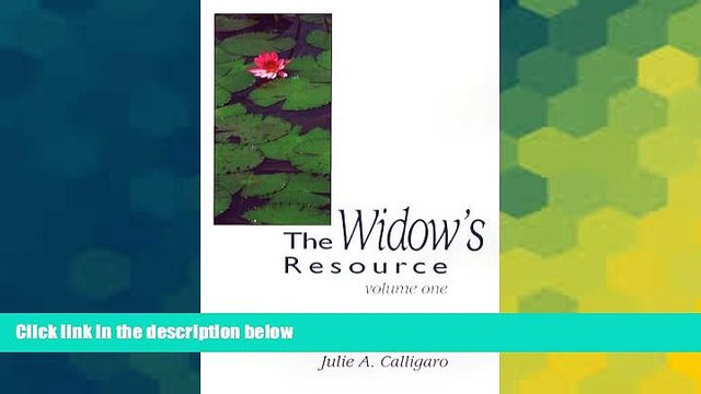 Must Have  The Widow s Resource: Volume One How to Solve the Financial and Legal Problems That