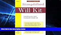 Must Have  Simplified Will Kit: Prepare Your Own Will Without Using a Lawyer (Simplified Will Kit